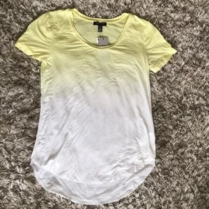 NWT Kenneth Cole Dip-Dyed Short Sleeve Tees Size S
